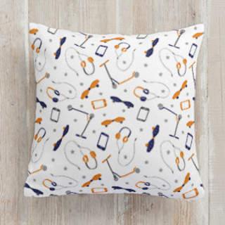 Gadgets Square Pillow
