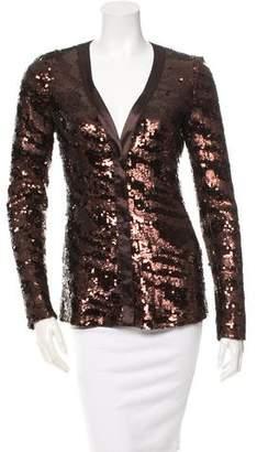 Rachel Zoe Long Sleeve Sequin Top w/ Tags