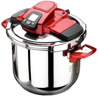 Caprice Pressure Cooker Colour: Red, Capacity: 7L