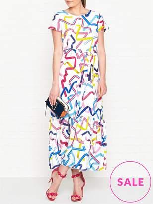 Paul Smith Ribbon Print Maxi Dress