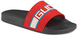 Gucci Pursuit Stripe Slide Sandal