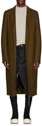 Rick Owens Men's Moreau Wool-Blend Melton Overcoat