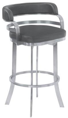 Excellent Leather Back Barring Shopstyle Inzonedesignstudio Interior Chair Design Inzonedesignstudiocom