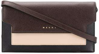 Marni tri-coloured wallet