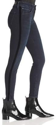 Mavi Jeans Tess Side-Stripe Skinny Jeans in Midnight Stripe