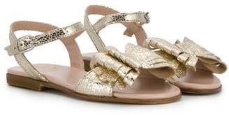 Gallucci Kids bow sandals