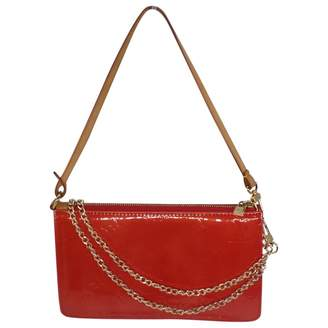 Louis Vuitton Vintage Pochette Accessoire Red Patent leather Clutch Bag e6b29794a94de