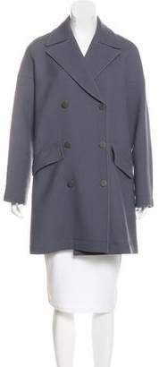 Alaia Double-Breasted Wool Coat