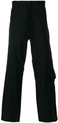 Yohji Yamamoto cargo pocket trousers