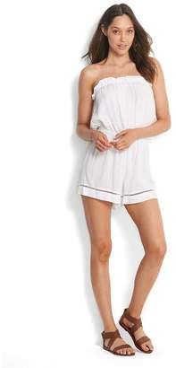 Seafolly Womens White Pull-On Playsuit - White