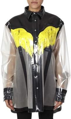Maison Margiela Yellow/black Oversize Shirt