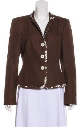 Michael Kors Structured Silk-Blend Blazer