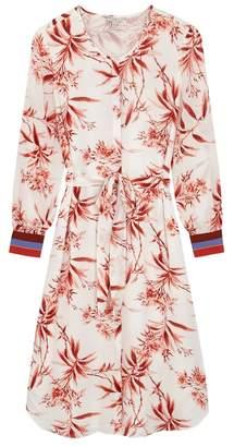 Joie Jeanee Printed Crepe Midi Dress
