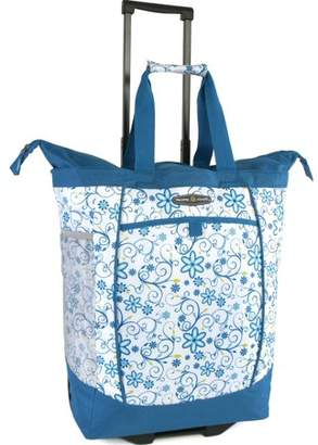 Pacific Coast Rolling Shopping Tote Bag