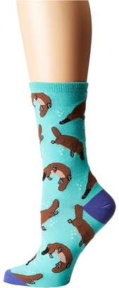 Socksmith Platypus Women's Crew Cut Socks Shoes
