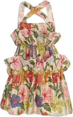 Viva Aviva M'O Exclusive Ophelia Tiered Floral Dress