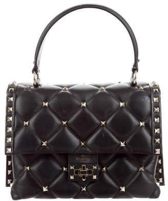 Valentino 2018 Medium Candystud Top Handle Bag