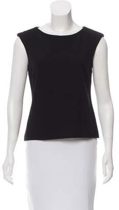 Calvin Klein Collection Sleeveless Wool Top