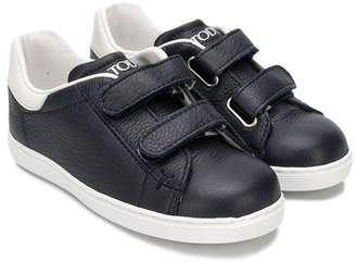 Tod's Kids touch strap fastening sneakers