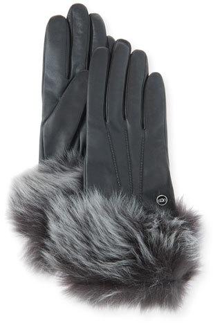 UGGUGG Classic Heritage Toscana Gloves, Black
