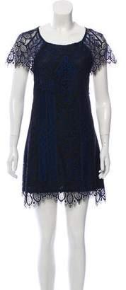 For Love & Lemons Halter Lace Dress