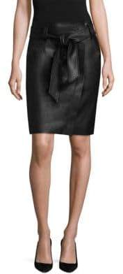Escada Sport Lajupe Leather Skirt