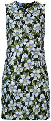 Dolce & Gabbana floral shift mini dress