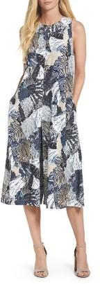 Women's French Connection Lala Palm Culotte Jumpsuit $178 thestylecure.com