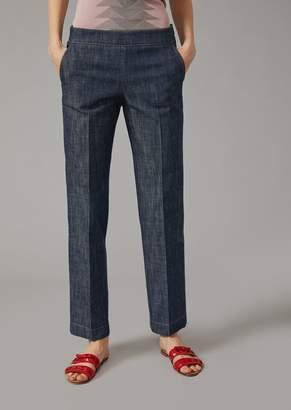 Giorgio Armani Washed Denim Jeans