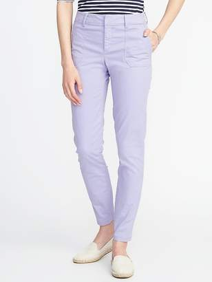 Old Navy Mid-Rise Pixie Utility Pants for Women