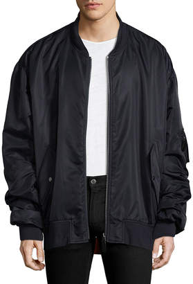 Yves Salomon Solid Stand Collar Jacket
