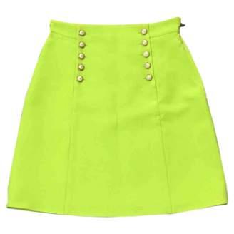 Gucci Green Silk Skirts