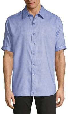 Robert Graham Short-Sleeve Button-Down Shirt