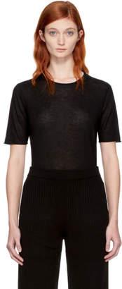 Joseph Black Pure Cashmere T-Shirt