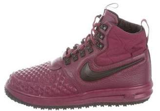 buy popular 0d7a2 537a3 Pre-Owned at TheRealReal · Nike Lunar Force 1 Duckboot Sneakers
