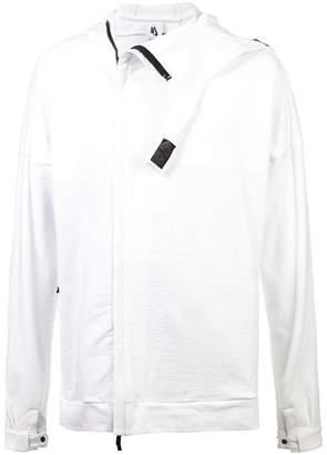Nike zipped hooded sweatshirt