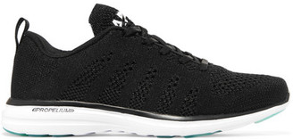 Athletic Propulsion Labs - Techloom Pro Mesh Sneakers - Black $160 thestylecure.com