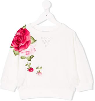 MonnaLisa embroidered embellished sweatshirts