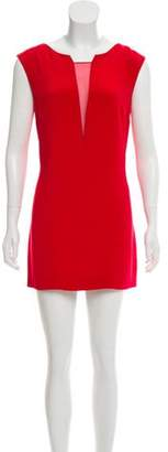 Cushnie et Ochs Silk Mini Dress