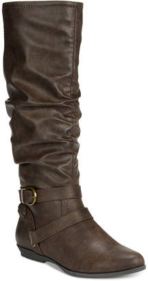 White Mountain Fairfield Wide-Calf Boots
