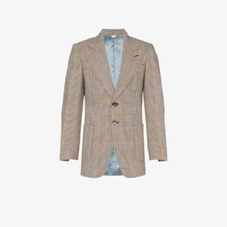 Gucci Check cotton jacket
