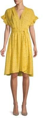 Max Studio Floral A-Line Dress