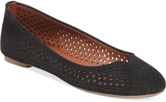 Lucky Brand Women's Enorahh Perforated Flats $69 thestylecure.com