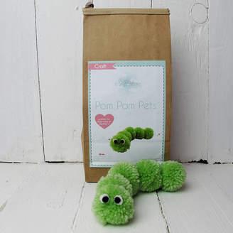 Hurley Sarah Pom Pom Pets Craft Kit Caterpillar