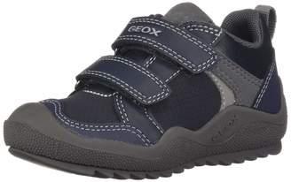 Geox Boy's J ARTACH BOY A Sneakers, Navy/Grey