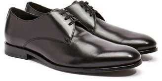 Harry's of London Christopher Black Satin Calf Leather Derby Shoe
