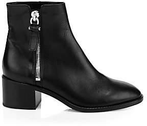 Aquatalia Women's Josephine Leather Ankle Boots