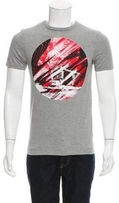 Christian Dior Abstract Graphic Print T-Shirt