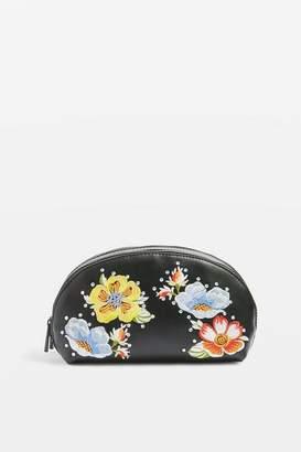 Topshop Scilla Floral Make Up Bag
