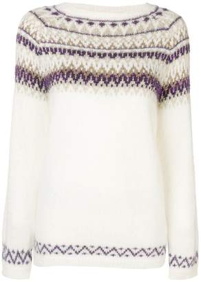 Liu Jo patterned knitted jumper